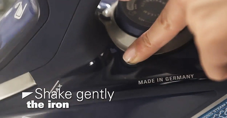 How to Self-Clean Rowenta Iron 3