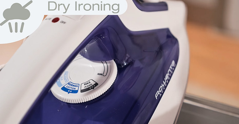 How to Use Steam Iron as a Dry Iron