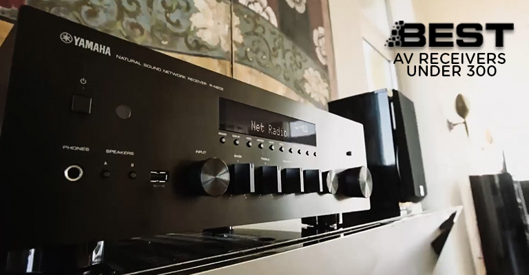 Best AV Receivers under 300